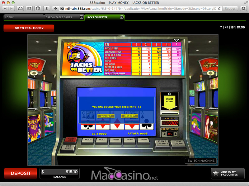 888 casino for mac
