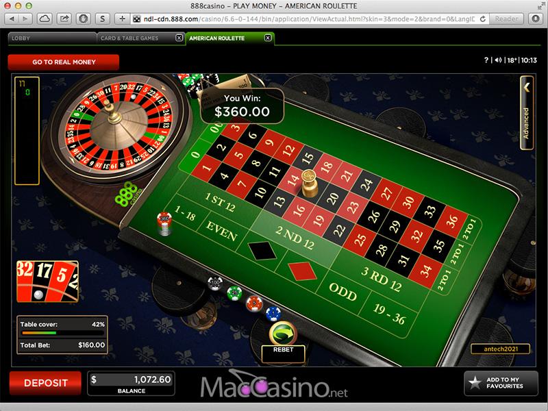 888 casino mac