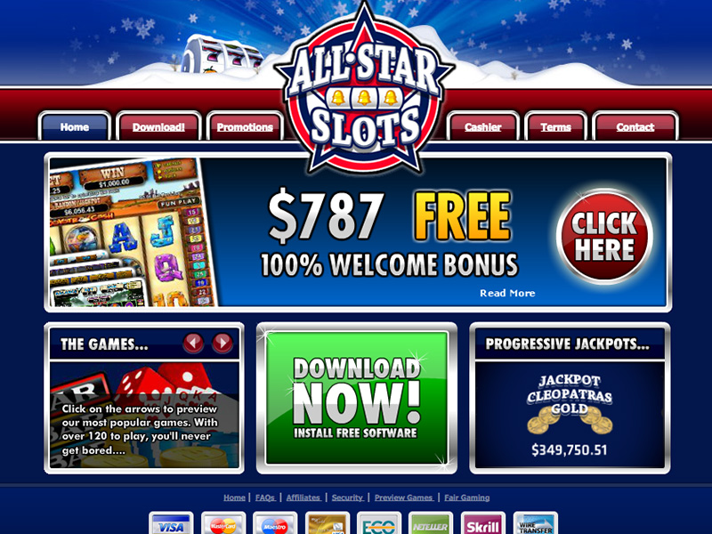 all slots casino account