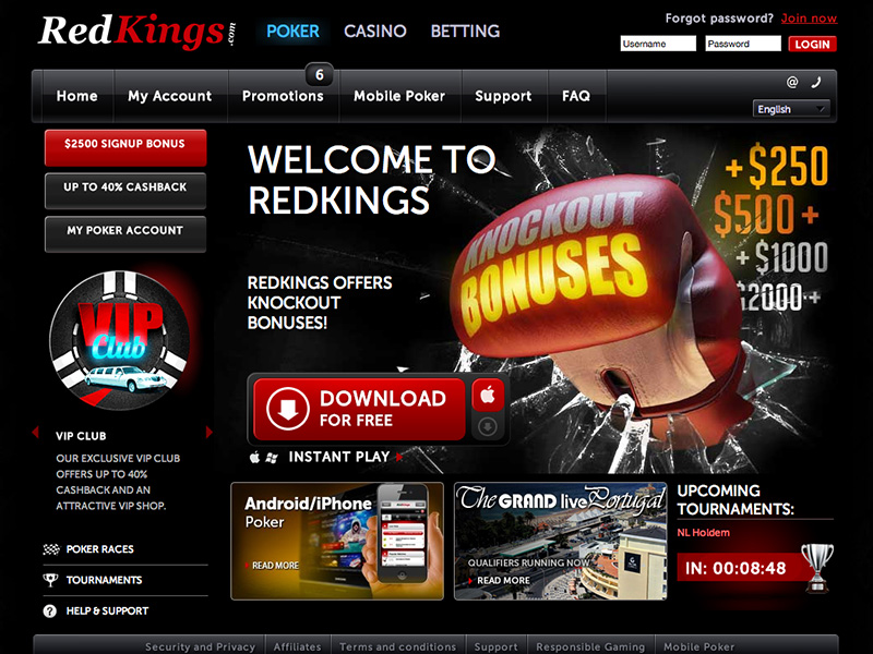 Redkings Poker0